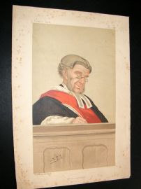 Vanity Fair Print 1887 W. R. Grove, Judge